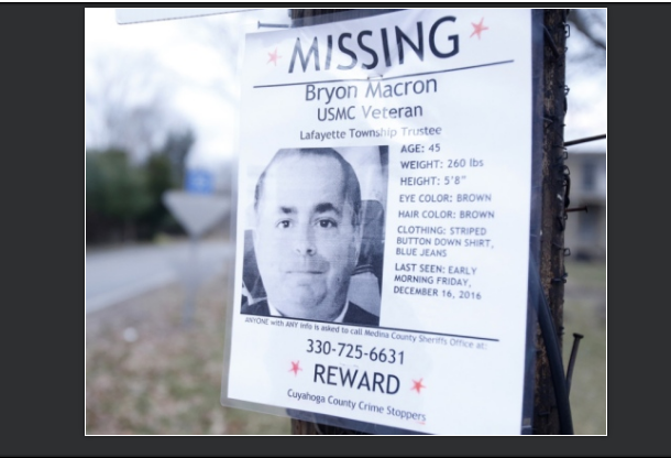 Akron Beacon Journal/Ohio.com - Prosecutor: 'Inappropriate to Draw Conclusions' in Death of Township Trustee Bryon Macron, Who Was Stabbed and Slashed