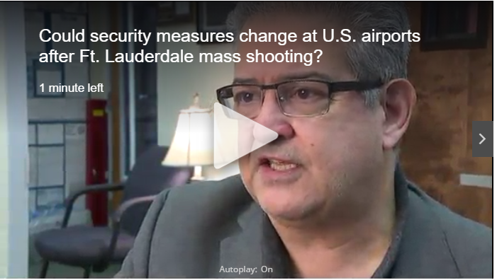 News5: Could Security Measures Change at U.S. Airports After Ft. Lauderdale Mass Shooting?