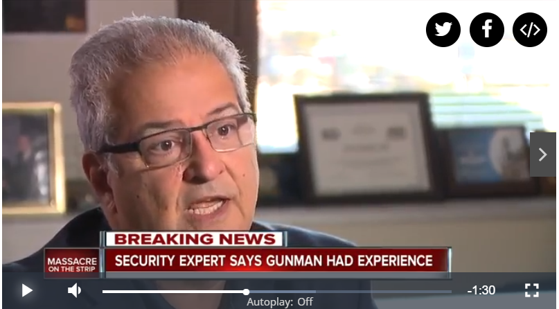 News5: Local Security Expert Says Las Vegas Shooter Had Previous Experience with Weapons