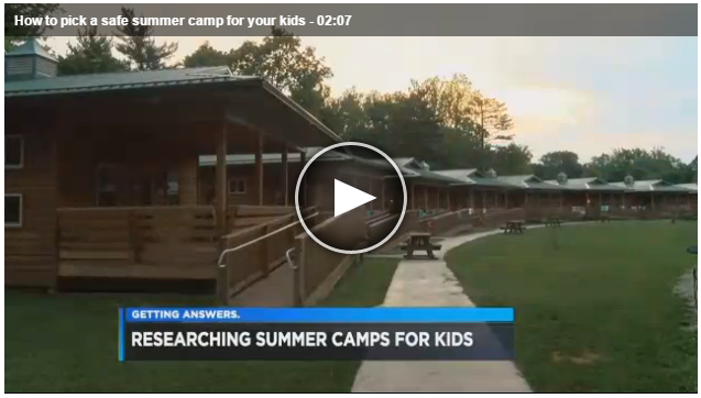 Cleveland19News: How to Pick a Safe Summer Camp for Your Kids
