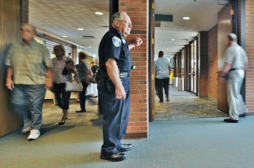 Photo: Jeff Lange, ABJ/Ohio.com: Akron-Area Churches Taking Steps to Heighten Security