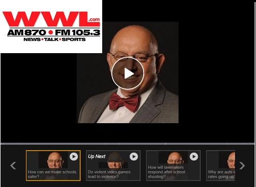 WWL-FM: How Can We Make Schools Safer