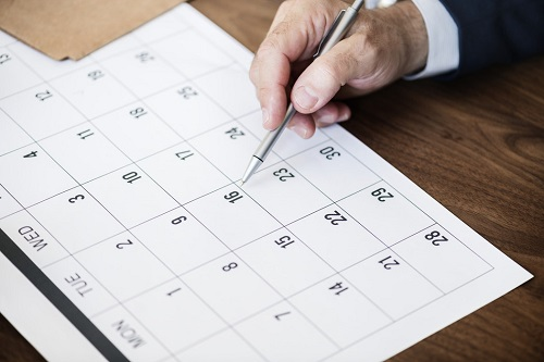 Schedule Forward to Make Time for Networking