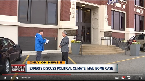 News5Cleveland: Local Security Expert Talks About Mail Bomb Case